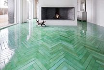 Floors / All kinds of inspiration; tiles, wood, vinyl, cement