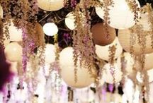 Mid summer dream wedding decor / Creating an ethereal feel to this earthy, rustic and elegant wedding