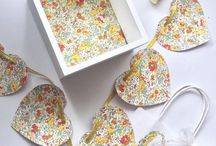 Metamorphosis Party Supplies | hand crafted party and home decor made with Liberty London fabric collection