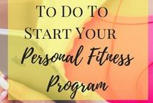 Fitness / how to achieve your fitness and health goals whether you are a mompreneur or a biz blogger.