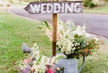 Our perfect day idea book / Wedding ideas.  / by Andrea Bracho