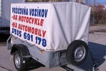 Pozicovne aut - privesne voziky