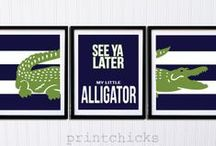 Go Gators! / Chomp, Annie Wright Schools beloved gator, can often be found on athletic gear around campus. Here are some other great ways to show your gator pride. #GoGators