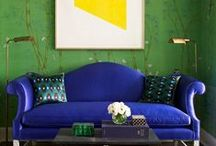 Life in Color / Nothing brings energy to art and design quite like a jolt of color. From pops of sunny yellows and oranges to palettes anchored in understated hues, we love designers and artists who embrace all that color has to offer.