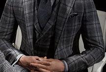 Men's Fashion & Style / スーツに品格を、カジュアルに遊び心を