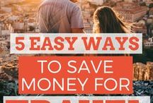 Travel Tips: Money & Budgeting / How do you afford travel?  Paying for travel is manageable if you try!  Budget travel tips help you save money for travel and travel cheap once you're there.