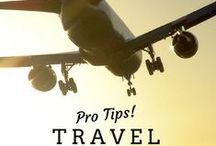 Travel Tips and Tricks! / Travel like a pro!  This travel advice will help you save money, pack like an expert, and plan the best trip ever.