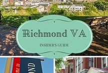 Richmond, VA (My Home City!) / Richmond Virginia is a really cool city -- and great for travel!  Plan a trip to RVA and learn what makes it so special.  Great for art, shopping, foodies, and even outdoors.