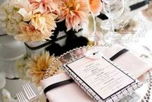 Reception Ideas / There's no limit to what can be done for a wedding. Here are some great reception and Décor ideas!