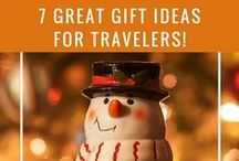 Gift Ideas for Travelers / Happy Holidays! If you're shopping for travel lovers, these travel gift ideas are perfect for Christmas, Hanukkah, and other holidays.