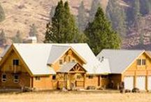 Lodge Log and Timber / Dream homes with American roots. By Lodge Log and Timber