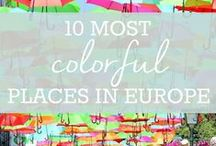 10 Most Colorful Places in Europe / 10 Most Colorful Places in Europe