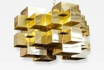 Interior Design: Brass / After years of chrome and nickel finishes taking top billing, brass  is back in a big way. Furniture, lighting and decorative accessories offered for sale by the world's finest dealers on Incollect.