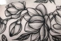 Flower inspired tattoos