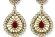 Earrings / Earrings,Bollywood Indian Fashion Clothing Online in US, NJ