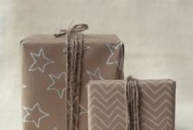 Lahjonta / gift wrapping and cards