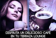 Coffee Lounge / Hoy sábado revive tus sentidos en nuestra terraza Coffe Lounge