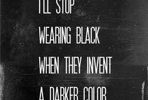 Black | White / New black