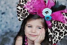 Clippies .. Princess  / Lazos,hairbow Niñas / by Cristell G.C.G.