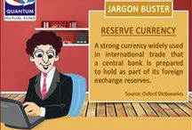 Jargon-Buster / Crack those confusing investment jargons. Find here meanings of commonly used mutual fund and investment terms.
