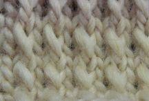 Crochet Knitting stitches