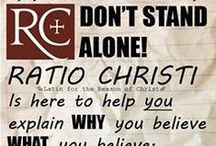 About Ratio Christi / Ratio Christi equips students and faculty at colleges & universities to give historical, philosophical, and scientific reasons for following Jesus Christ. We're currently on 150  campuses, and are now starting high school outreach! Our chapters provide a safe and charitable venue for atheists, agnostics, skeptics, and people of any religion to investigate the claims of Christianity, discuss religious beliefs, and seek truth without fearing reprisal. See more at http://ratiochristi.org/