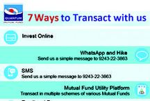 Invest online in Mutual Funds / Invest online in Quantum Mutual Funds Quantum pioneered the India's 1st and only direct to investor Mutual Fund, totally paperless way of mutual fund investing online in India.