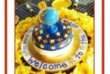"""Baby Shower: On the Day You Were Born / Book Theme / Create a Baby Shower based on the beloved classic book, On the Day You Were Born. Make it celestial with sun, moon, stars, Planet Earth..."""" Welcome to the spinning world!"""""""