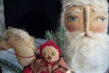 """SANTA Marketplace / A place to find all your Santa decor, art, gifts. Pin only 3 """"new"""" pins a day. Do not invite anyone without my approval-if you do, you will be removed; This prevents spam. ALL things Santa Claus."""