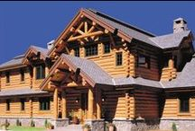 Log Home Exteriors / Lifeline Log Home Stain by Perma-Chink Systems