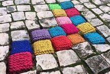 """GRANDMA GRAFFITI"" or simply yarnbombing / by Elena Spirina"