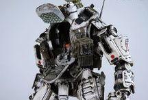 Robots! / mechas, droids, robots and more