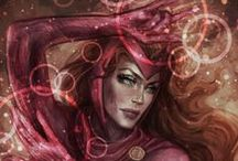 Scarlet Witch /Wanda Maximoff/ / comic - movie - Marvel
