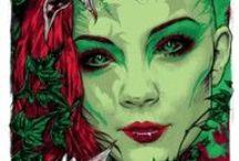Poison Ivy  /Pamela Lillian Isley/ / Comic-movie- DC