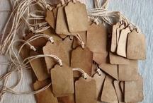 Label - Wrap - Paper  / by Hilaria Fina
