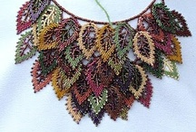 Beaded Leaves