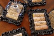 Wine Cork/Bottle crafts