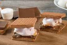 S'mores / Every kind of s'more you could imagine. You'll be saying S'more!!  / by Payton Russell