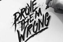 Art / Graffiti / Tattoo / Typography / Art / Graffiti / Tattoo / Typography Inspiration / by Rémy