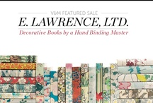 Decorative Book Bindings / E. Lawrence, LTD Decorative Books by a Hand Binding Master / by VandM.com