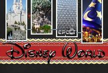 Disney scrapbook layouts & planners / layouts, planners, organizers