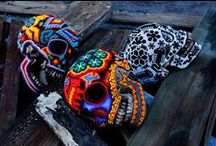 Beaded Skulls, Skeletons