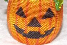 Beaded Halloween