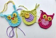 Crochet - Owl / by Hilaria Fina