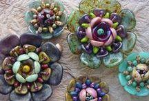 Beading - Rose Petal Beads