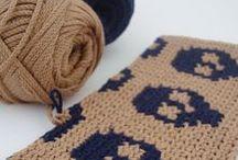 Crochet - Skull / by Hilaria Fina