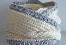 Crochet - Cowl & Gloves / by Hilaria Fina