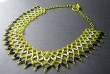 Beading - Netting / www.etsy.com/shop/BeadsOfBohemia - COLLECTION OF NETTING Designs, Patterns, Instructions, Inspiration. - pins marked * are FREE patterns or instructions, - pins marked *P are patterns or instructions to buy