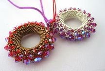 Beaded Donuts, Rings