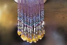 Beading - Fringe / www.etsy.com/shop/BeadsOfBohemia - COLLECTION OF FRINGE Designs, Patterns, Instructions, Inspiration.  - pins marked * are FREE patterns or instructions, - pins marked *P are patterns or instructions to buy